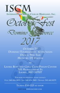 October Fest Domino Jamboree 2017
